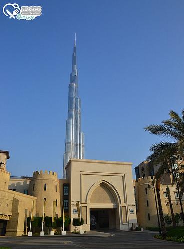 杜拜逛街最便利的奢華酒店THE PALACE DOWNTOWN HOTEL@2014杜拜小旅行