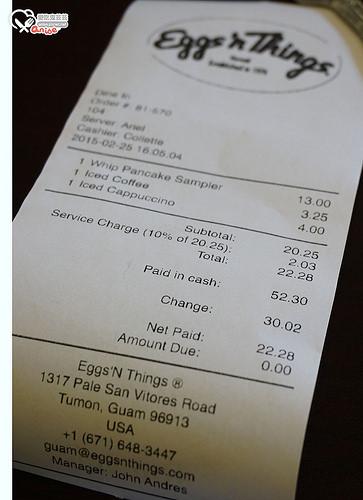 關島美食.Taco Bell、Tony Roma's、Egg'n Things
