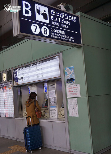 大阪住宿.APA HOTEL (天王寺站旁),交通超便利