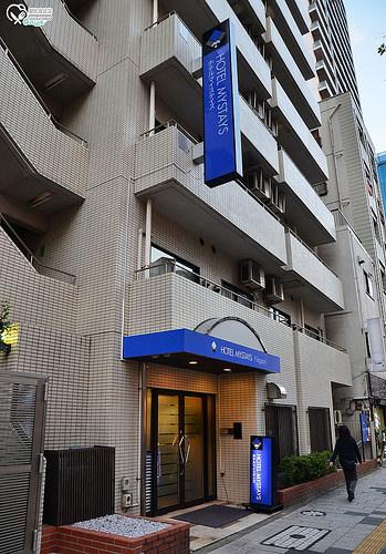 東京住宿.Hotel Mystays Nippori (近日暮里站)