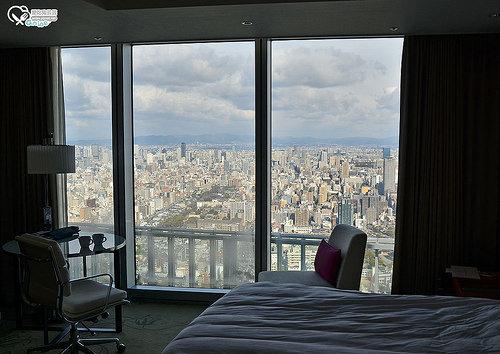 大阪住宿.大阪阿倍野 萬豪酒店  大阪ホテル,好飯店還是在日本划算!(阿倍野HARUKAS 300 展望台)