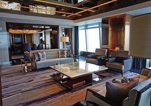 香港.麗思卡爾頓酒店The Ritz-Carlton:行政套房、總統套房