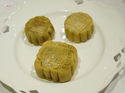 美心月餅:奶黃月餅製作
