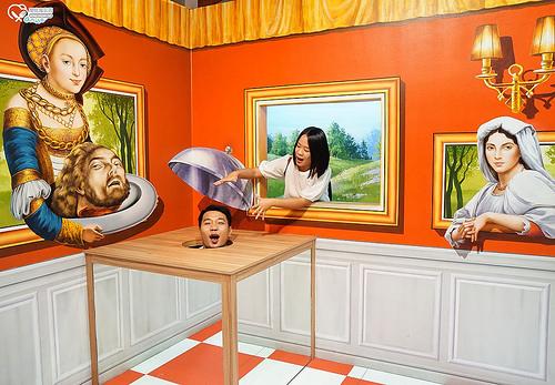 聖淘沙名勝世界:特麗愛3D美術館 TRICK EYE MUSEUM