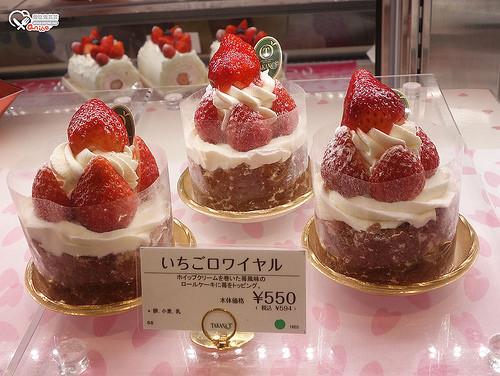 TAKANO草莓滿滿的甜點@西武池袋百貨