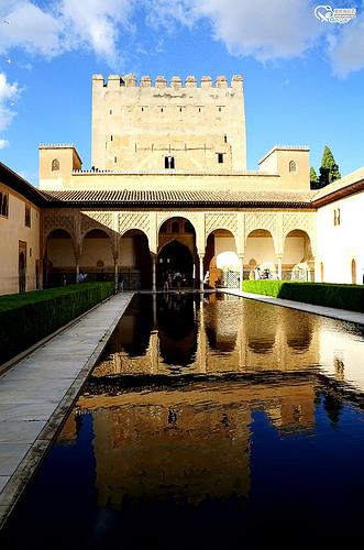05 Granada Alhambra Palace01(Patio de los Arrayanes)