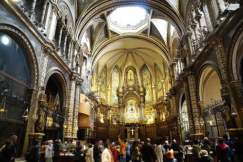 08 mystical mountain of Montserrat 02 Benedictine monastery
