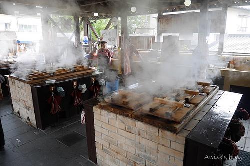 九州別府地獄蒸鐵輪工房蒸出食材的原始美味+大分香味博物館調香體驗(跌倒阿姨代班)