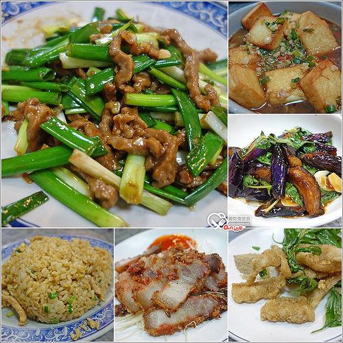 合江街美食.長青快炒,生意頗好的小飯館兒