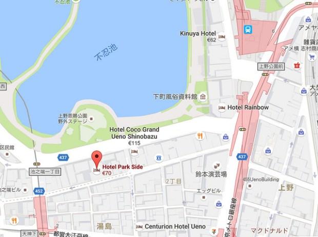 東京上野住宿.東京園畔飯店 (Hotel Parkside Tokyo)