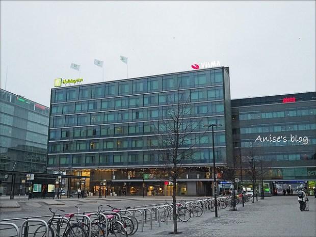 赫爾辛基中央車站住宿推薦 Holiday inn 001