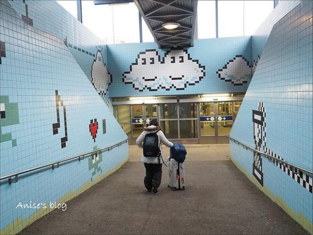 斯德哥爾摩藝術地鐵076