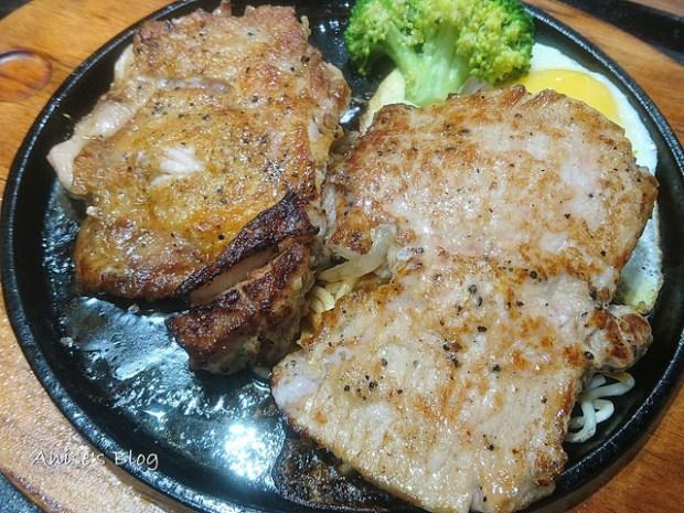 微風南京美食,油蔥黑鐵牛排,新式台式牛排 @愛吃鬼芸芸