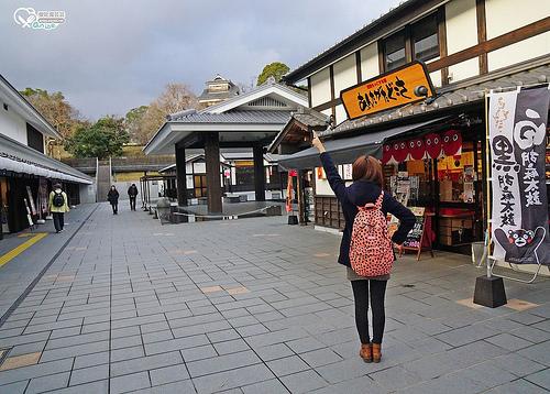 熊本.城彩苑,湧湧座、櫻之小路,體驗江戶時代老街與穿著 @愛吃鬼芸芸