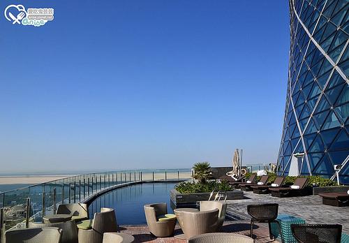 阿布達比首都門凱悅酒店Hyatt Capital Gate, Abu Dhabi@ 杜拜小旅行 @愛吃鬼芸芸