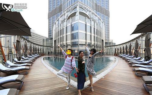 哈里發塔Burj Khalifa(杜拜塔)、ARMANI DUBAI酒店@ 杜拜小旅行 @愛吃鬼芸芸