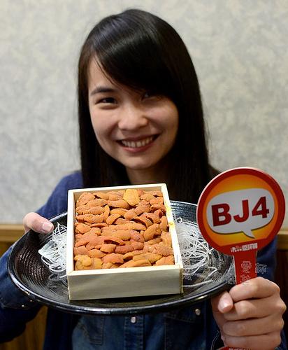 小六食堂,四訪終於吃到爆甜日本海膽! @愛吃鬼芸芸