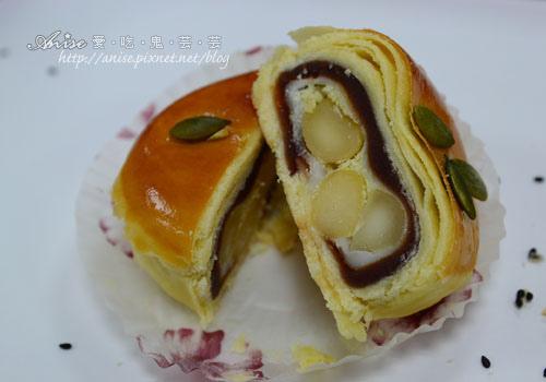 金蕎-帝王酥,奶香濃濃的美味月餅 @愛吃鬼芸芸