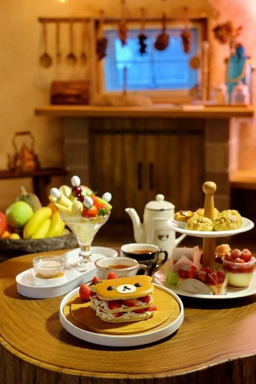蘑菇屋下午茶