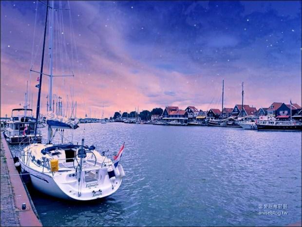 荷蘭 | 北海小漁村沃倫丹Volendam (含交通)(伴手禮最佳購買處) @愛吃鬼芸芸