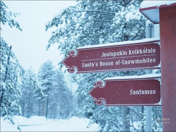 芬蘭耶誕老人渡假村,我終於見到耶誕老人了!😍