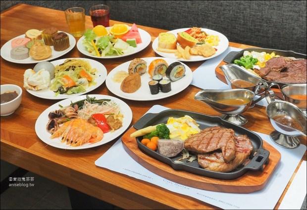 德立莊中庭餐廳 Semi Buffet $398起,超划算沙拉吧吃到飽! @愛吃鬼芸芸