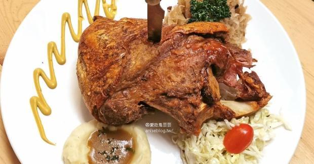 巴獅子德國餐廳,豬腳、香腸、垛麵好德國好好吃,推!(文末菜單)