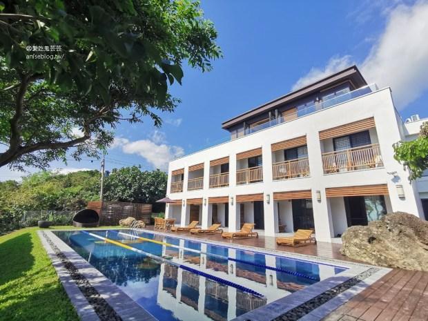 海Villa胆曼民宿,躺在床上就能享受太平洋美景的親子Villa 😍 (附泳池)