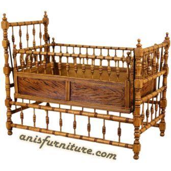 ayunan bayi kayu jati jepara