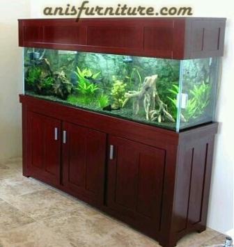 aquarium kayu minimalis
