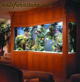 bufet untuk aquarium