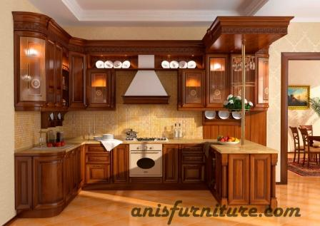 kitchen set jati mewah
