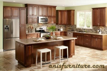 kitchen set minimalis marmer