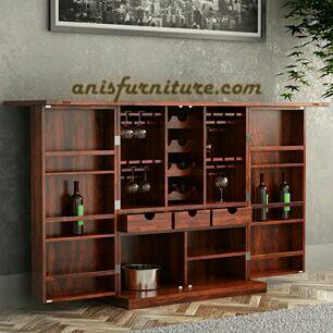 lemari mini bar