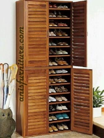 lemari rak untuk sepatu