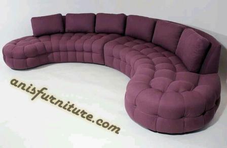 sofa mewah model donat