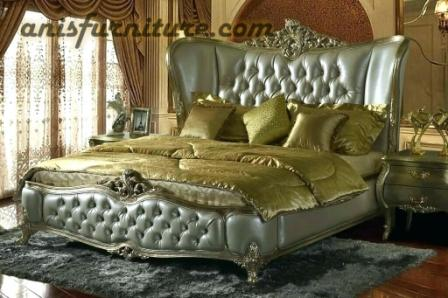 tempat tidur set mahkota