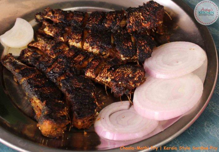 Kerala Style Chaala-Mathi Fry-Sardine Fry
