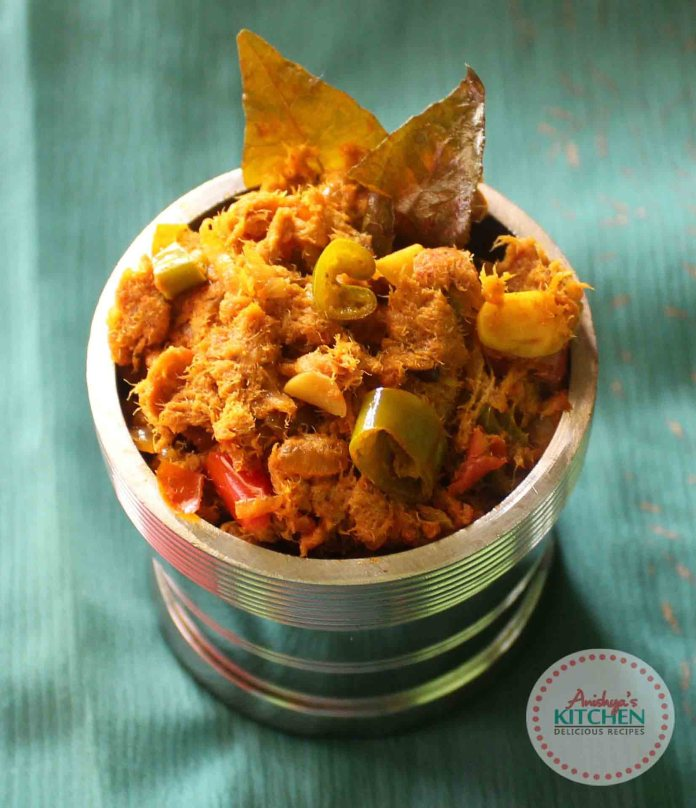 Kerala style fish stuffing recipe