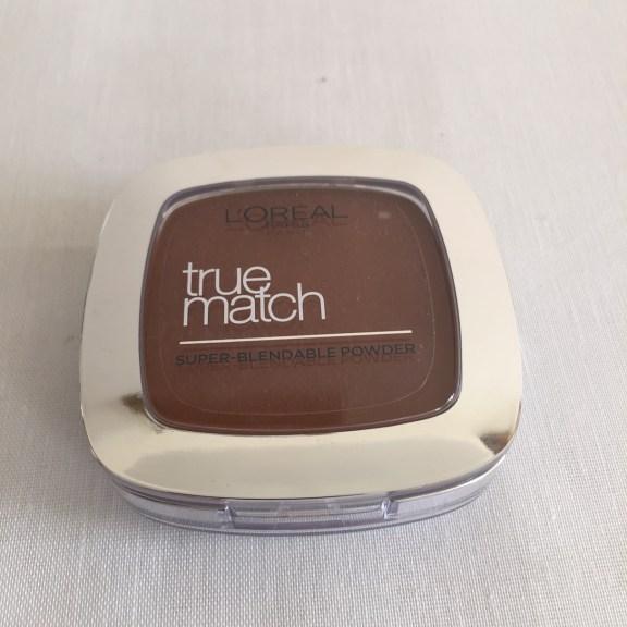 True Match Powder in 10.D/10.W Deep Golden