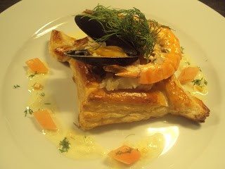 Seafood Tart
