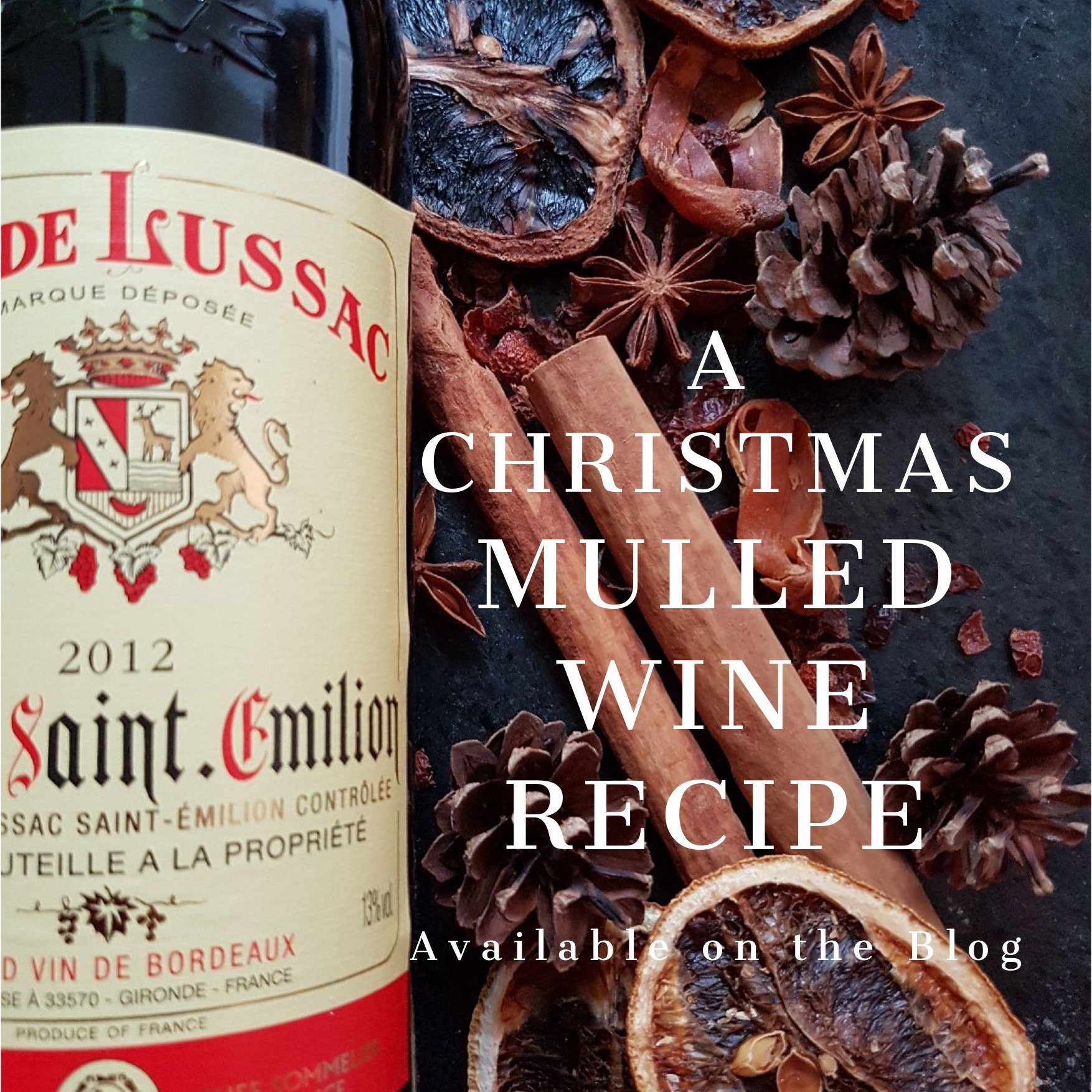 Recipe for Christmas Mulled Wine