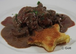 Devilled Kidneys and Toast