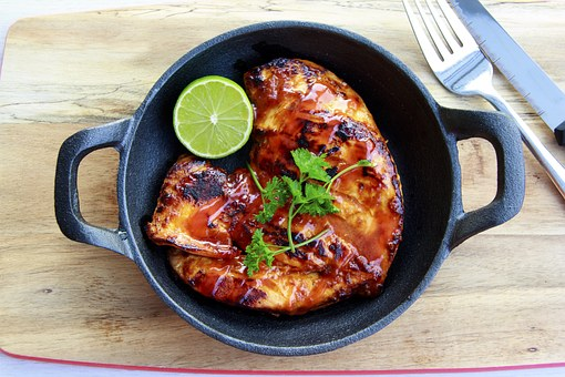 Butterflied BBQ Sticky Chicken Breast