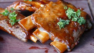 Glazed Pork Ribs