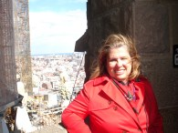 Sagrada Familia-in the bell tower (2)