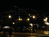 Hills above Cusco