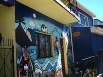 Mural in Cerro Alegre