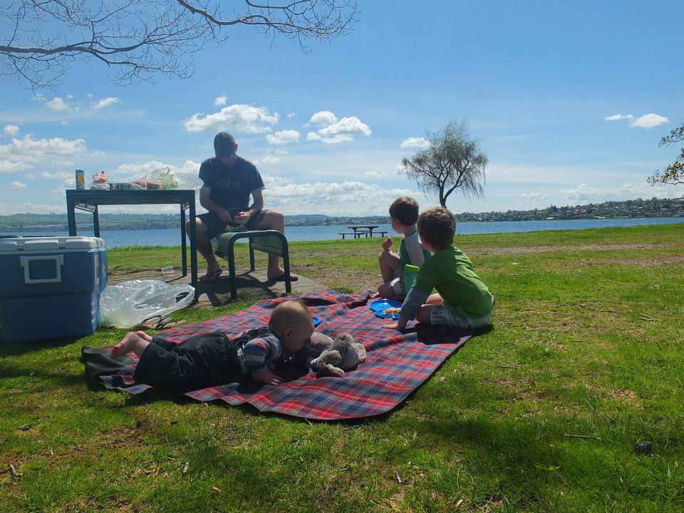taupo with kids