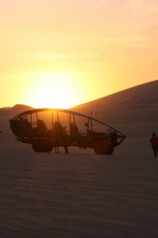 Dune buggying at sunset Huacachina e1509173921327 - Traveller's Tales | Justine's South American Journey